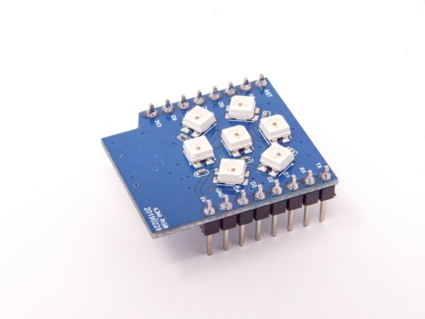 RGB LED Shield V1.0.0 LOLIN (WEMOS) D1 mini WS2812B 3535